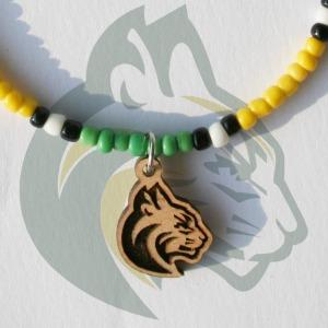 Sage Creek High Bobcats Mascot Charm Bracelet