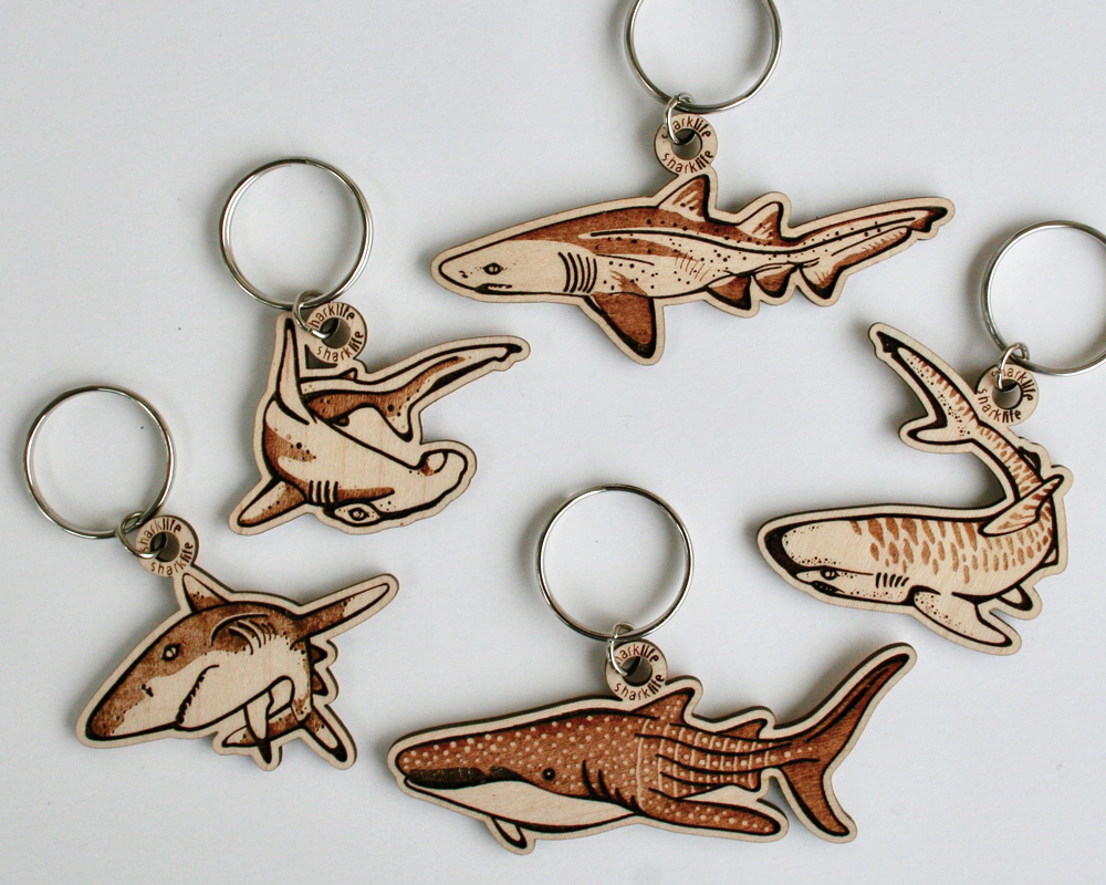 Eco Friendly Marine Conservation Souvenir Key Chain