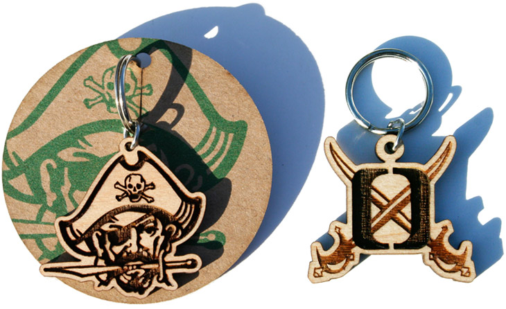 Spirit Week High School Fundraiser Mascot and Letter Key Chain Charms