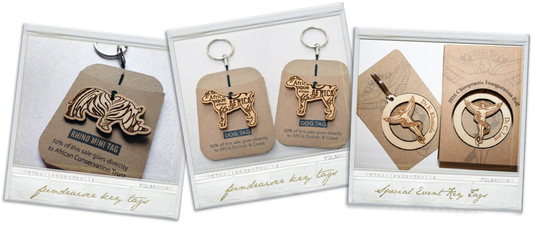 Custom Wooden Key Tags for Corporate Promotions, Special Events or Organization Fundraiser