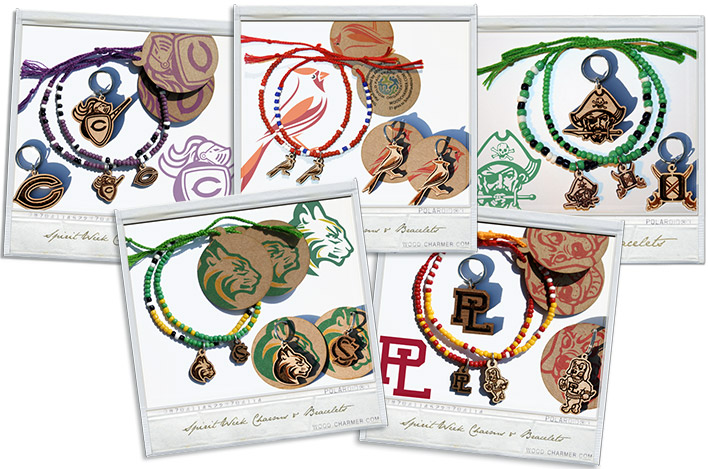 High School Fundraiser Spirit Bracelets