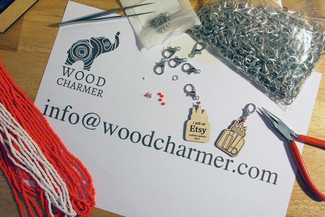 woodcharmer-charm-production